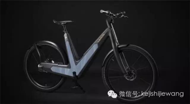科技手工制作环保型自行车